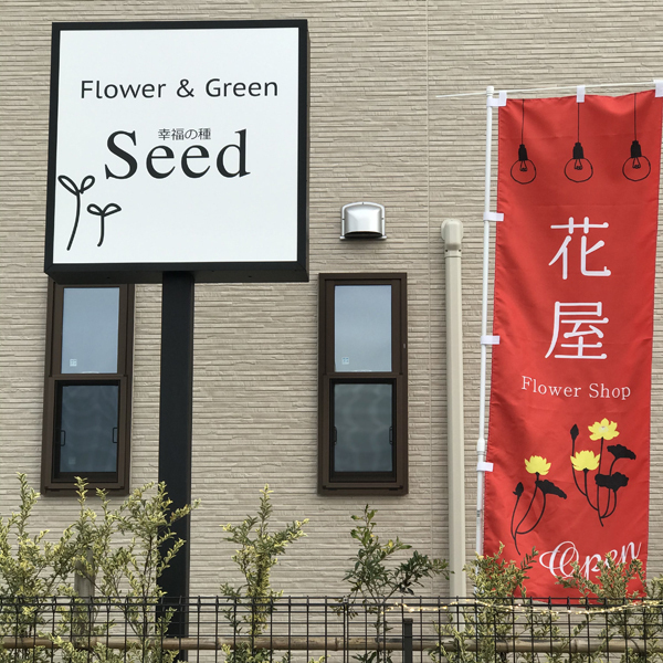 Flower & Green Seed